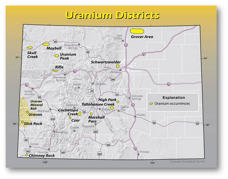 Uranium in Colorado